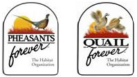 logos of pheasants forever and quail forever